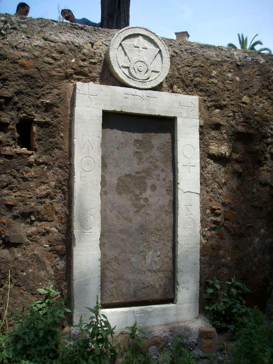 Porta Magica, Rome, photo
