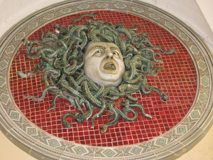 The Medusa by Ferruccio Mengaroni at Musei Civici, Pesaro