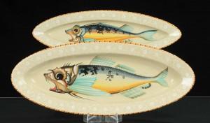 Plates by Ferruccio Mengaroni