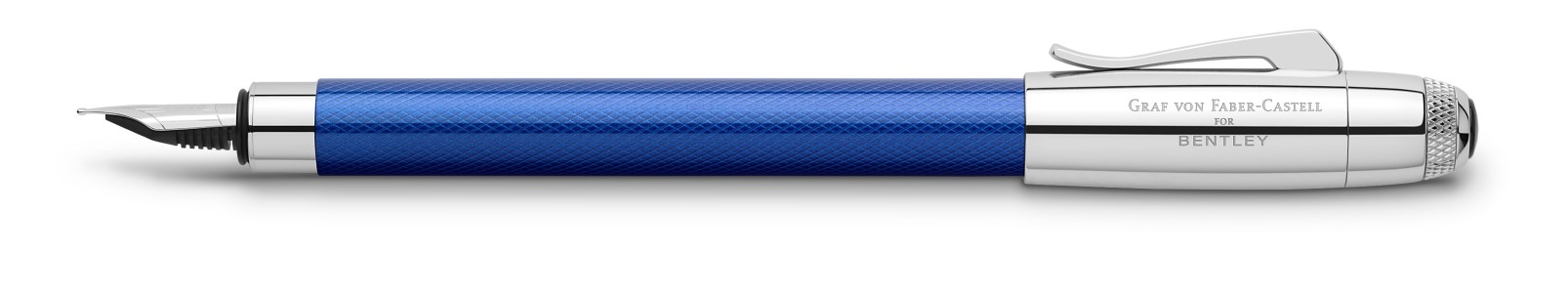 Graf von Faber Castell for Bentley Sequin Blue Fountain Pen